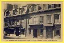 cpa CANADA Old HOMESTEAD HOTEL and RESTAURANT QUEBEC CITY