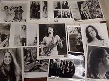 Lot 19 Musician Photos Carlos Santana The Sutherland Brothers & Others 082616Dba