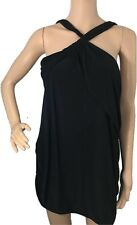 Lane Bryant Womens Dress Polyester Cold Shoulder Party Cocktail Black Size 18 20
