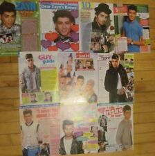 Zayn Malik, One Direction, Lot of TEN Full Page Clippings
