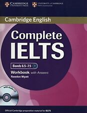 Complete IELTS Bands 6.5-7.5 Workbook with Answers with Audio CD New Paperback B