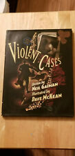 VIOLENT CASES~by Neil Gaiman & Dave McKean~Dark Horse Deluxe Hardcover BRAND NEW