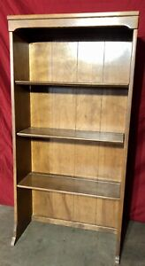 Vintage Ethan Allen Nutmeg CRP Heirloom Bookcase hutch