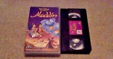Aladdin WALT DISNEY CLASSIC UK VHS PAL VIDEO 1994 Robin Williams Tim Rice Songs