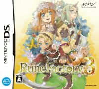 Used Nintendo DS Rune Factory 3 Japan Import Game  121