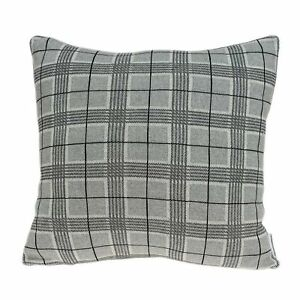 """20"""" X 0.5"""" X 20"""" Transitional Gray Pillow Cover"""