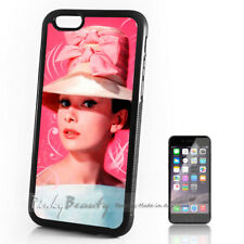 ( For iPhone 4 / 4S ) Back Case Cover P11216 Audrey Hepburn