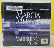 VANISHING POINT  -Marcia Muller-  CD UNABRIDGED ~ FREE SHIP