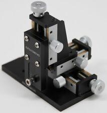 Optosigma Tas 5l Xyz Axis Leadscrew Translation Stage 15mm Travel W Base Amp Mount