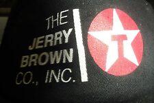 Texaco Jerry Brown Gas Oil Vtg Snapback Trucker Hat