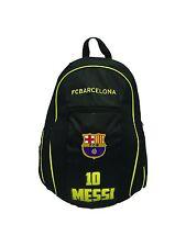FC Barcelona Messi 10 backpack school mochila bookbag cinch Bag official