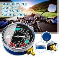 Moto Carburador Combustible Vacío Cilindro Calibre Balanceador Diagnóstico Tools