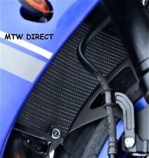 Yamaha YZF R1 2009-2014 R&G BLACK ALUMINIUM RADIATOR GUARD COVER GRILLE