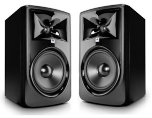 JBL 308P-MKII 2 enceintes studio bi-amplifiées 20cm / La paire - NEW !