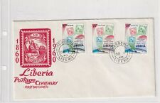 Liberia 557-59 FDC 1960 STAMP ON STAMP POST PHILATELY COVER LETTER