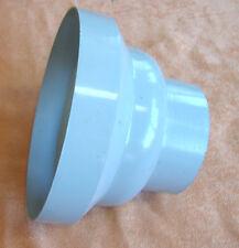 Standrohrkappe Abdeckrosette für 87mm Fallrohr Regenrohr Aluminium