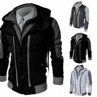 Men's Coat Sweater Jacket Warm Hoodie Hooded Sweatshirt Outwear Winter Tops