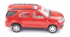 Toyota SUV Off Roader Fortuner Scale Toy Car Model Red Collectibles Model Toys