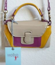 Hobo International Bessie Cross Body Bag Clutch Multi-Color Patent Leather NWT