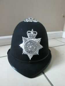 Ex Police Chief Inspector Peak Cap Hat Wool Felt Theatre Film Fancy Dress