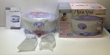 NEW Homedics Body Basics PAR-120 ParaSpa Select Parafin Heat Therapy Bath w/ Wax