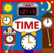 TIME teaching resources on CD- Maths, Numeracy, KS1, EYFS, SEN, Primary