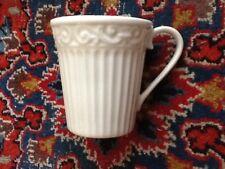 Mint Gorham Bavaro White Mug EUC