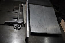 Inca Universal table saw miter gauge, fence,2 extension tables