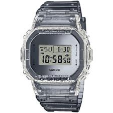 Casio G-Shock Square Skeleton Transparent Silver Grey Digital Watch DW5600SK-1ER