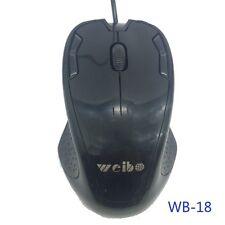Mouse Ottico Usb Con Filo Weibo WB-18 usb 3.0 1,5m Pc Notebook moc
