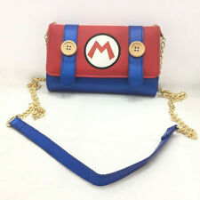 Super Mario Women bag Handbags Leather pu casual Shoulder bags Purse Clutch Bag
