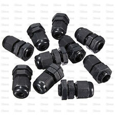 10PCS Waterproof Fixing Gland Connector PG7 for 3.5-6mm Dia Cable Wire New
