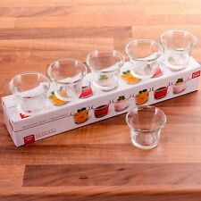 6x SHOT GLASS APPETISER CUP Finger Food/Dessert 60ml Mini Taster Serving Dish