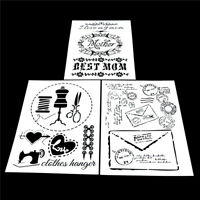 craft layering stencils template for walls painting scrapbooking stamping X