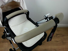 Bugaboo Cameleon3 Real Leather Zip On Handle Bar And Bumper Bar Covers