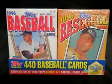 1996 Topps Baseball SET, Mickey Mantle Factory-Sealed Cereal Boxes