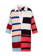 Stella McCartney | Multi Coloured Striped Polo Rugby Shirt Dress IT36 RRP$730USD