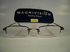MAGNIVISION/FOSTER GRANT SPRING READING GLASSES MASON BROWN