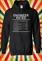 Engineer Rates Mechanic Garage Funny Men Women Unisex Top Hoodie Sweatshirt 2273