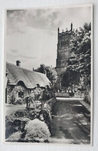 Old Cottages And Church Chipping Campden Cotswolds Gloucestershire