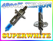 Se adapta a Chevrolet Par 55 W H1 SUPERWHITE 4800K Xenon Headlight Bulbs Faro Repuesto