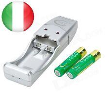 CARICA BATTERIE USB STILO/ MINISTILO AA/AAA GD101