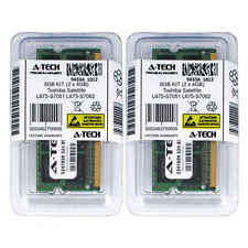 8GB KIT 2 x 4GB Toshiba Satellite L675-S7051 L675-S7062 L675-S7108 Ram Memory