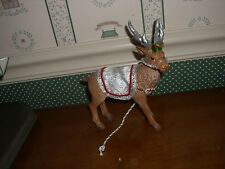 POSSIBLE DREAMS--CLOTHIQUE-2016-SANTA'S WHITE REINDEER-NEW IN BOX