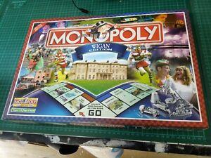 Monopoly Board Game: Wigan Edition. 2005 Hasbro. RARE!