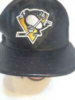 Used New Era Hat NHL Pittsburgh Penguins Vineal  Snapback Cap