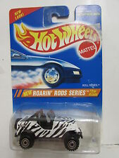 HOT WHEELS 1995 ROARIN' RODS SERIES - ROLL PATROL #304 CHROME RIMS