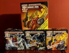 Just Toys Transformers WST Desert Warrior Snarl Prototype Commander Work Set