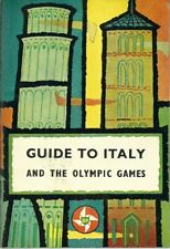 """1960 Rome  """"Guide to Italy and the Olympic Games""""  published by BP Touring"""