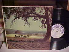 RARE JACK PEPPER LP PURE COUNTRY FOURTEEN CARROT RECORDS EXCELLENT VINYL RECORD
